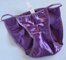 NWT Victoria's Secret VINTAGE Second Skin Satin String Bikini Panties SZ SMALL