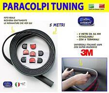 Modanature 500X Fiat strisce adesive auto porte esterne tuning kit nero gomma da
