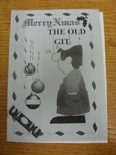 1996/1997 Wycombe Wanderers: The Old Git Christmas Edition - A One Off Publicati
