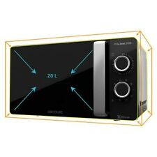 MICROWAVE WITH GRILL 20 L 700W BLACK SILVER