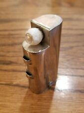 1917 PSMCO dental flashlight uv cure light medical pocket chrome very rare