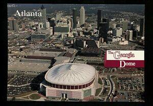 Olympics postcard Centennial Olympic Games Atlanta 1996 GA Georgia Dome downtown