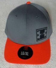 AUTHENTIC UNDER ARMOUR BASEBALL CAP (GREY / ORANGE)