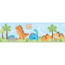 Peek-A-Boo Babysaurus Dinosaur for Baby Wallpaper Border YS9179BD