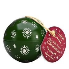Wax Lyrical Frosted Pine Fragranced Christmas Bauble Candle