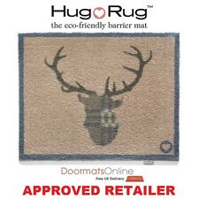 Hug Rug 85x65cm (HOME 19) Stag Deer Dirt Trapper Door Floor Mat Washable