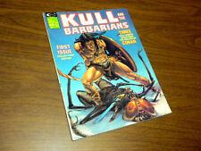 KULL AND THE BARBARIANS #1 Marvel magazine 1975 CONAN/ROBERT E. HOWARD