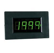 LCD 14 mm Panelmeter Einbau Voltm 3½-st. 200 mV DC grün