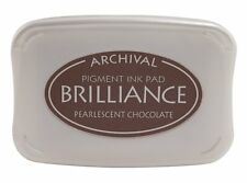 Brilliance Ink pad  - Pearlescent Chocolate