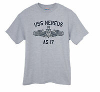 US USN Navy USS Nereus AS-17 Submarine Tender T-Shirt