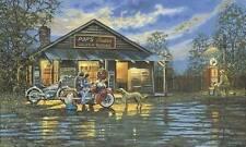 "Dave Barnhouse "" Small Town Service "" Master Canvas AP # 8 /19 Harley Davidson"