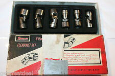 "SNAP-ON TOOLS 3/8"" DRIVE UNIVERSAL SHALLOW 6-POINT SOCKET SET 6pc 7/16""-3/4"""
