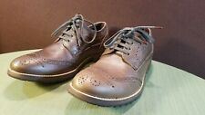 Franco Fortini Wing Tip Madrid Brown Dress Shoe Size 11 M