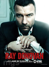 Ray Donovan 1-page clipping 2013 Showtime tv series Liev Schreiber Jon Voight