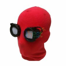 2017 Spider Man Homecoming Peter Parker Red Mask Cosplay Prop Fit Most