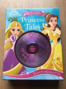 Disney Pixar Princess My Favourite Princess Tales: 5 Storybooks by Parragon & CD