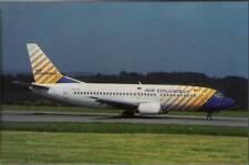 (wgl) Airplane Postcard: Air Columbus, Boeing 737-33A