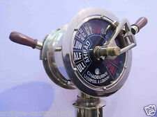 Brass Ship's Engine Order Telegraph Vintage Maritime Collectible Decorative