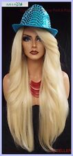 "25"" LONG LACE FRONT DEEP C-PART HIGH HEAT SAFE WIG COLOR 613  SEXY 1097 NEW"