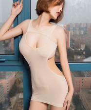 Women Sexy Bodycon Mini Dress Sexy Lingerie Babydoll Vest Underwear Clubwear Red