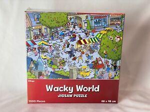 Wacky World - Village 1000 Piece Jigsaw Puzzle 68cm x 48cm