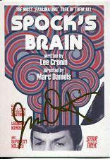 Star Trek Portfolio Prints Gold Parallel Base Card  62 Spock's Brain