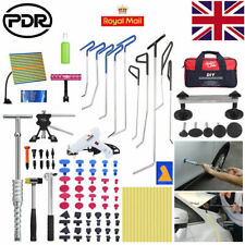 Paintless Dent Repair Puller Lifter PDR Rods Hook Tools Hail Rmeoval Line Board