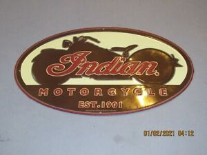 INDIAN MOTORCYCLE - Advertisement sign - Enamel