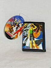 NEW WITH TAGS MOBILE SUIT GUNDAM WING KIDS COIN TRI FOLD BLUE BANDAI WALLET VHTF