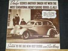 1937 Dodge Brown Tone Sales Brochure