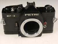PRL) PETRI MF-2 FOTOCAMERA ANALOGICA FOTORIPARATORE BODY SPARE PARTS REPAIR