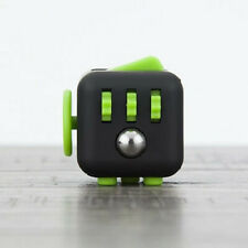 Brand New Fidget Cube, Black and Green colour, Perfect for restless fingers!