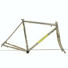 Vintage Panasonic Titanium 3AL-2.5V Road Bike Frame 53cm From Japan [HJ]