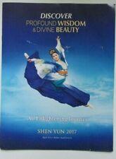 Brochure Discover Profound Wisdom & Divine Beauty SHEN YUN 2017 Dance 8pp+covers