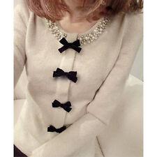 Women's Hot Trendy Off-White Ladies Elegant Sweater Dress
