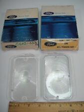 1969 Ford Galaxie 500 XL LTD Wagon  Ft Turn Signal Lenses Lens PR NOS