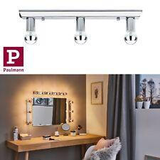 Paulmann LED Spiegelleuchte Regula 3x2,5W Chrom inkl. Leuchtmittel mit Schalter