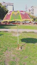 Handcrafted Garden Umbrella Sun Shade Umbrella Cotton Big Parasols