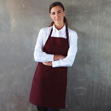 Basic Chef Bib Apron, 100% Spun Polyester