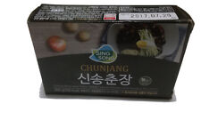 New Black Bean Paste Sauce Chunjang Instant Korean Food Noodle Size 200g