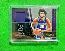 MARVIN BAGLEY PATCH NBA DRAFT ROOKIE SACRAMENTO KINGS 2018-19 SELECT BASKETBALL