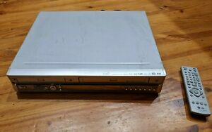 WORKING   LG 6821W DVD Recorder / Video Cassette Recorder RC 6821W with Remote