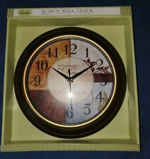 Equity Wall Clock 12 Inch Full Color Inspirational Dial
