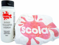 500ml SCOLA IMAGE MAKER PICTURE TRANSFER PASTE FOR TEXTILES T-SHIRTS & FABRICS