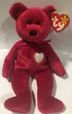 NEW Rare Ty Beanie Baby 1998/1999 Valentina Bear Retired NWT Errors