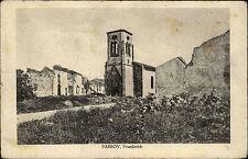 Feldpostkarte aus Parroy Frankreich Westfront 1. Weltkrieg 1918 Feldpost gelauf.