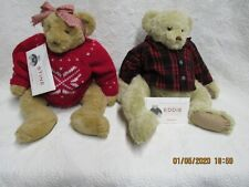Eddie Bauer Bear Collection- Eddie and Stine, Mint with COA
