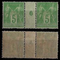 Millésime 1900 de SAGE 102, Neuf * = Cote 80 € / Lot Timbres France