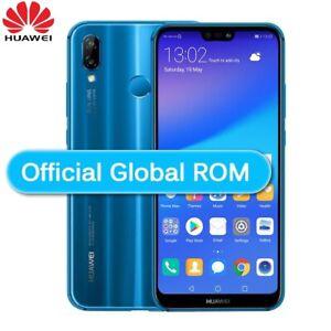 """Huawei P20 Lite 64GB Ram 4GB 16MP 5.84"""" Dua SIM Smartphone Unlocked Black Blue"""