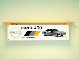 Opel 400 Banner Car Workshop Garage Rally trackside Display sign
